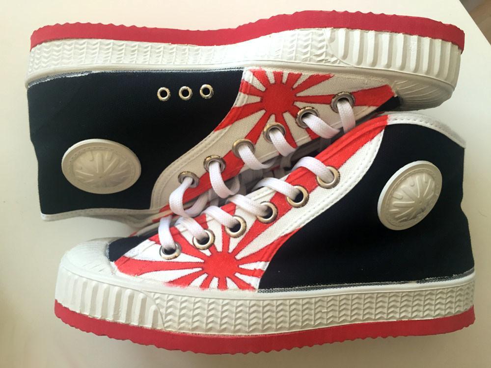 zapatillas personalizadas cebo poisonestudio solnaciente