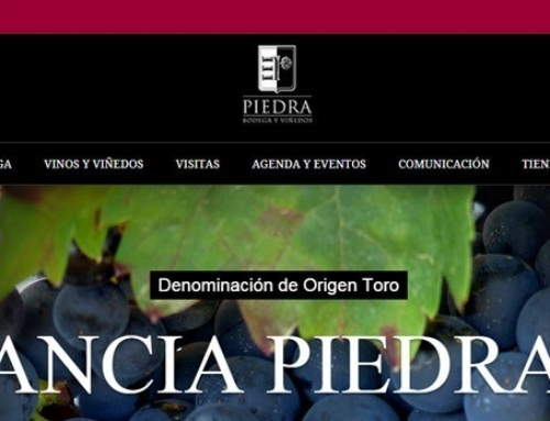 Página Web para Bodega Estancia Piedra