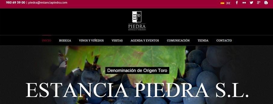 web de estancia piedra por poison estudio en bilbao