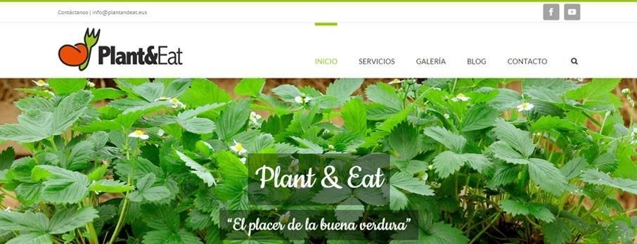 pagina web para plant and eat por poison estudio en bilbao