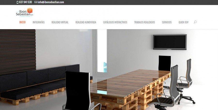 Página web Ibon Sebastian