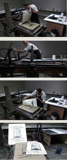 Demostración de litografía