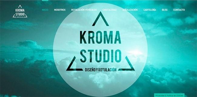 Página web Kroma Studio