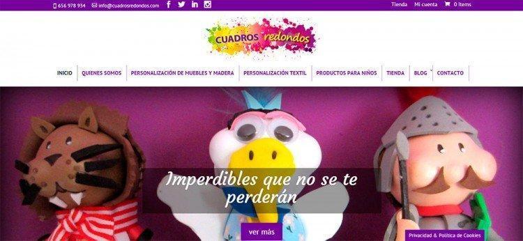Página web Cuadros Redondos