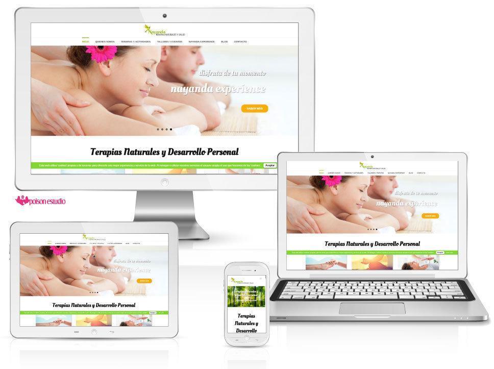 pagina web terapias naturales