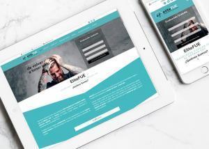 Diseño de página web para EliteFue