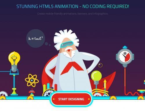 Creación de animaciones HTML5.