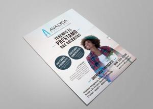 Diseño flyers para Avalyca por Poison Estudio