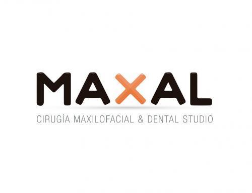 Diseño de logotipo para Clínica Dental Maxal.