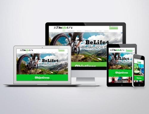 Página web para Belife4