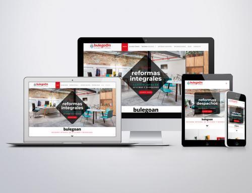 Página web para Bulegoan