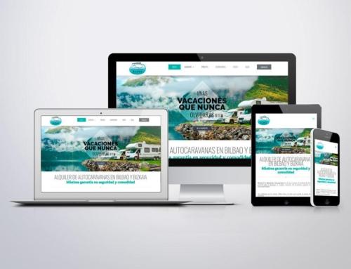 Página web para Alquiler de Autocaravanas Bilbao