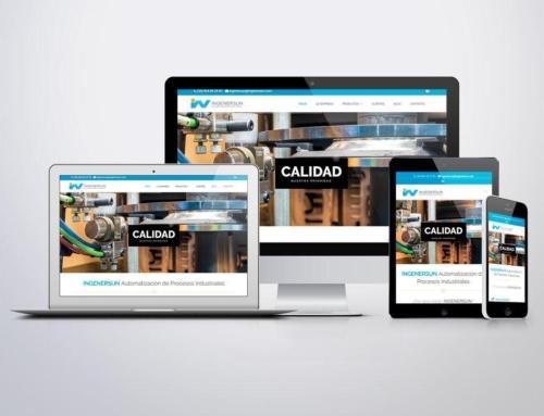 Página web para Ingenersun