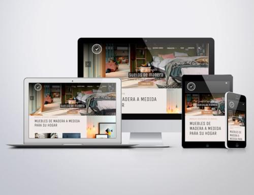 Página web para Márquez Interiores
