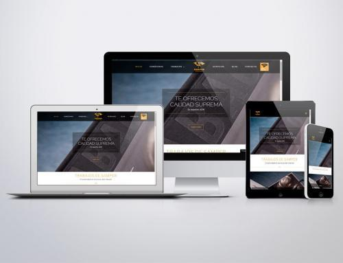 Página web para Samper Impresores