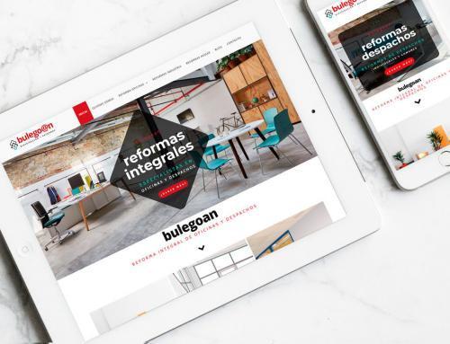 Página web para Bulegoan.