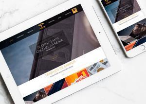 Diseño web para Samper Impresores por Poison Estudio