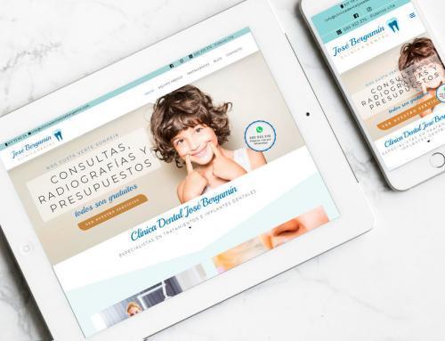Página web para Clínica Dental José Bergamín.