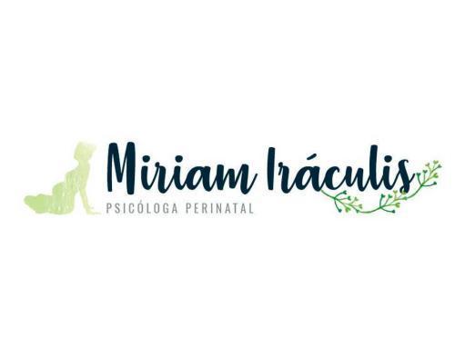 Diseño de logotipo para Miriam Iráculis.