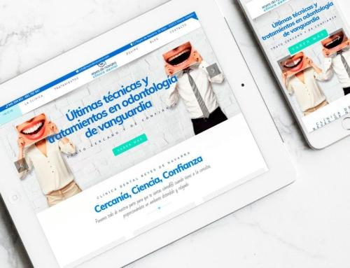Página web para Clínica Dental Reyes de Navarra