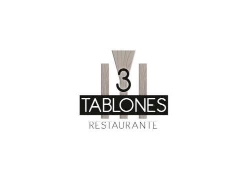 Diseño de logotipo para Restaurante 3 tablones