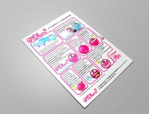 Diseño de flyers para Qtdkoro
