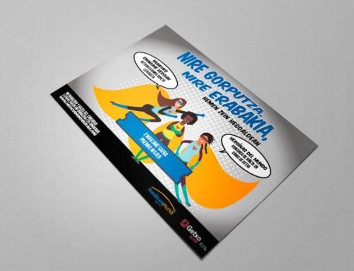 Diseño de flyers para ayuntamiento de Getxo
