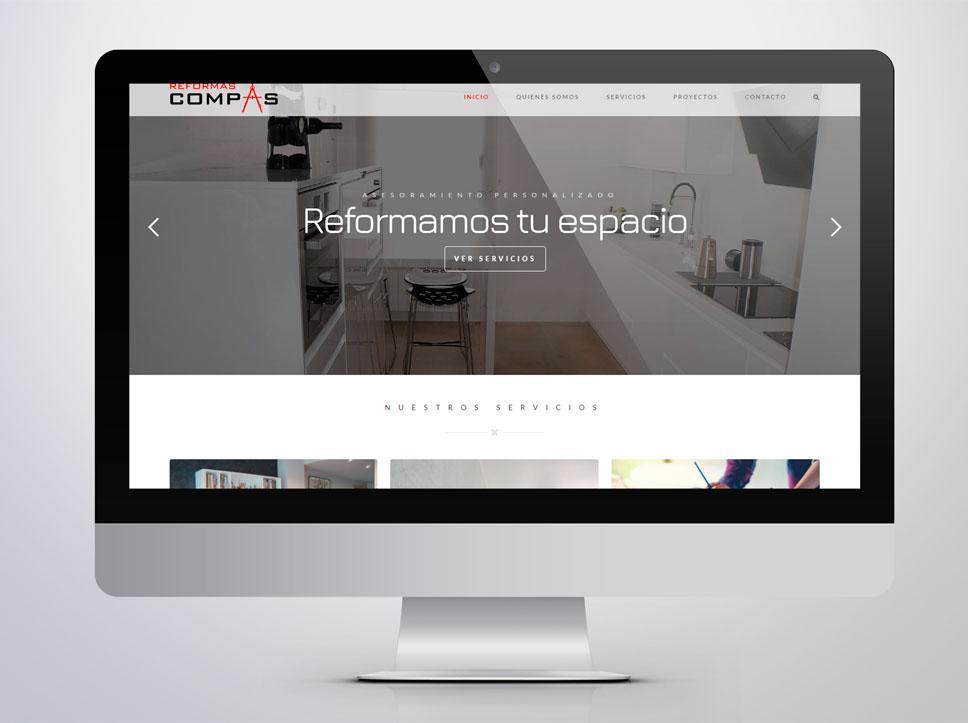 portafolio web thumbnail reformascompas