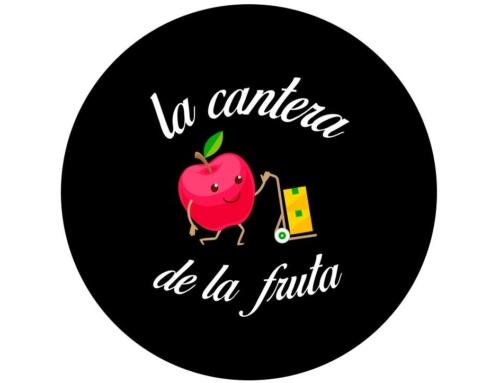 Diseño de logotipo para la cantera de la fruta