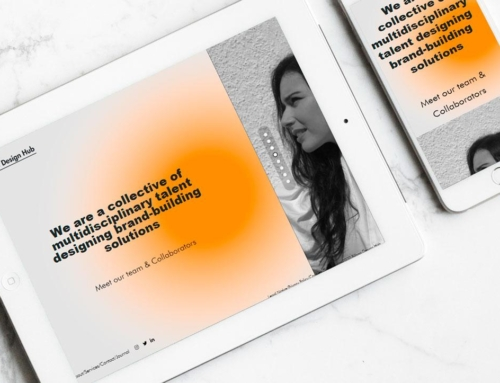 Página web para Bilbao Design Hub