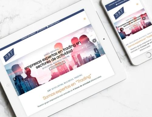 Página web para Developing Business Trading