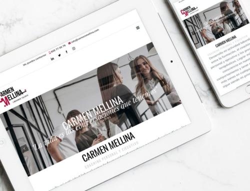 Página web para Carmen Mellina