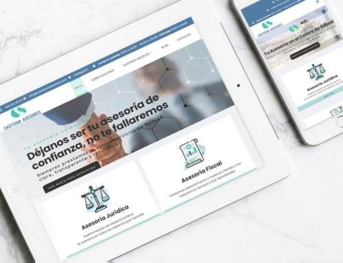 Página web para Castisar Asesores