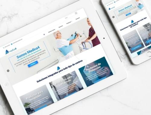 Página web para Medica4